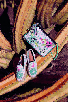 #MMissoni | Floral embroidery accessories | SS15
