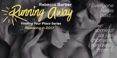 Cover RevealRunning AwaybyRebecca Barber  Blurb  Derek Cartwright has become a shadow of the man he once was  After burying his best friend Spencer and putting his murderer Spencers own twin brother behind bars Derek is desperate to leave his old life behind. But now he has the responsibility of taking care of Spencers girlfriend Zoe Sinclair who becomes both destructive and dangerous to herself as she struggles to cope with the grief of losing the love of her life.  In a bid to start over…