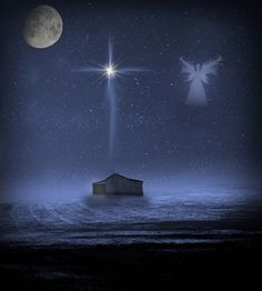 """The First Christmas - And there were shepherds living out in the fields nearby, keeping watch over their flocks at night. An angel of the Lord appeared to them, and the glory of the Lord shone around them, and they were terrified. But the angel said to them, Do not be afraid. I bring you good news of great joy that will be for all the people. Today in the town of David a Savior has been born to you; he is the Messiah, the Lord."""""""