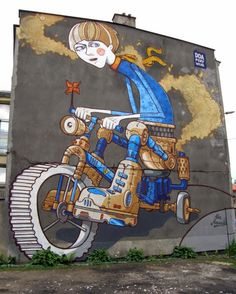 Foxy & Wiur #awesomeurbanart #worldgraffiti #streetart #freewalls #streetartists #urbanartists #graffiti #art