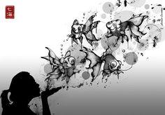Exquisitely Detailed, Explosive Art - Nanami Cowdroy