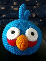 Ravelry: Angry Birds - Blue Bird pattern by Adorable Amigurumi
