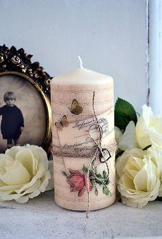 Vintage sviečka