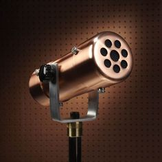 Copper Microphone gives you that 1930s lo-fi vibe for $249.99