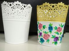 Flower pot- Before and After