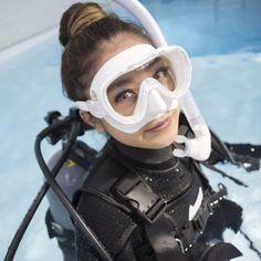 Diving Suit, Scuba Diving Gear, Diving Wetsuits, Snorkel Mask, Scuba Girl, Womens Wetsuit, Sport Girl, Snorkeling, Underwater