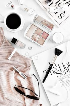 best beauty products #flatlay #skincare #makeup