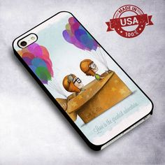 Awesome Disney Up Carl & Ellie Love Adventure - For iPhone 4/ 4S/ 5/ 5S/ 5SE/ 5C/ 6/ 6S/ 6 PLUS/ 6S PLUS/ 7/ 7 PLUS Case And Samsung Galaxy Case