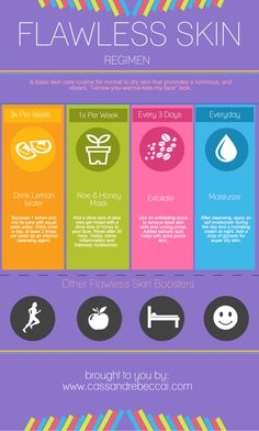 Skincare Routine for flawless skin! #Tips #Beauty