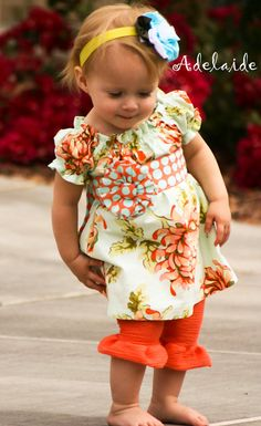Love this...She's a Peach 2 Piece set Adelaide by AdelaidesBoutiqueLLC on Etsy, $64.00