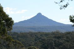 Pigeon House Mountain in the Budawang Ranges, South Coast, NSW
