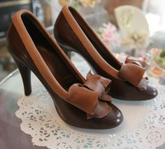 edible, chocolate shoes!