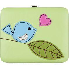 Bird Heart Square Wallet