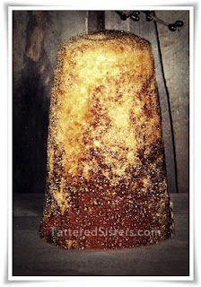 Primitive Sugar Cone - recipe for Primitive Homes, Primitive Crafts, Country Primitive, Primitive Christmas, Christmas Crafts, Primitive Decorations, Primitive Candles, Primitive Quilts, Primitive Patterns