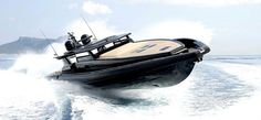 Black Shiver 220 Superyacht Tender by Novamarine Maserati Birdcage, Rib Boat, Sailing Charters, Deck Boat, Love Boat, Yacht Boat, Dinghy, Super Yachts, Boat Design