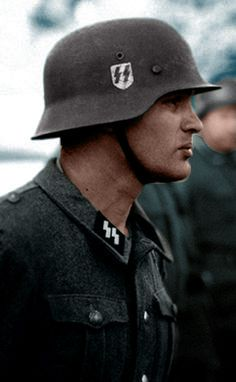 The Waffen SS were the fanatical elite of the German army. Their loyalty to Hitler was unquestionable and they often fought to the death.