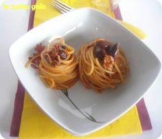 vermicelli alle olive
