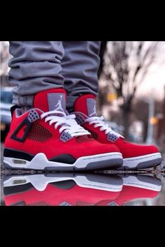 jordans Red Sneakers Outfit 5dffdfb7f