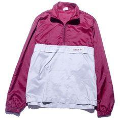 Adidas Windbreaker Medium Perennial Merchants (505 MXN) ❤ liked on Polyvore featuring outerwear, jackets, tops, coats & jackets, windbreaker jacket, nylon jacket, adidas windbreaker, mint green jacket and wind jacket