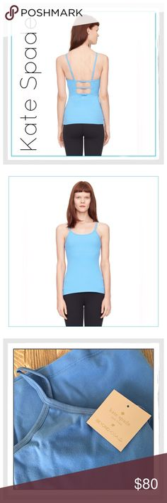 ✨Kate Spade 'Beyond Yoga' Triple Bow Cami✨ ✨Kate Spade 'Beyond Yoga' Triple Bow Cami✨With a built-in shelf bra, adjustable elastic straps and a trio of sweet mini bows at the back, this cami is just as right for the workout as it is for the post-gym adventures✨90% supplex, 10% lycra✨Adjustable foldover elastic straps✨Triple mini bows at open back straps✨Supplex shelf bra✨Low hip length✨Beyond yoga x kate spade new york✨4-way stretch✨Quick drying✨Moisture wicking✨Color Is Alley Blue✨NWT✨Size…