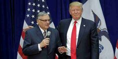 "Top News: ""USA POLITICS: Trump Pardons Joe Arpaio"" - https://i0.wp.com/politicoscope.com/wp-content/uploads/2017/08/Donald-Trump-and-Joe-Arpaio-USA-POLITICS-NEWS.jpg?fit=1000%2C500 - ""Throughout his time as sheriff, Arpaio continued his life's work of protecting the public from the scourges of crime and illegal immigration,"" said a White House statement announcing Arpaio's pardon, the first of Trump's administration.  on Politics - http://politicoscope.com/2017/08/2"