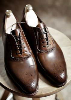 A good suit makes a good man. But three things make a good suit. One of them is classic shoes.