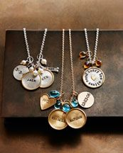 Heather Moore Personalized Charms