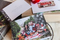 Holiday Cards: Let it Snow - Design Aglow - 3
