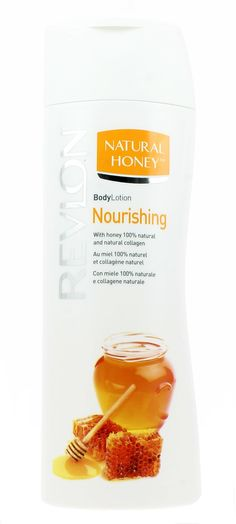 Revlon Natural Honey body lotion nutriente con miele 100% naturale e collagene naturale, 2017
