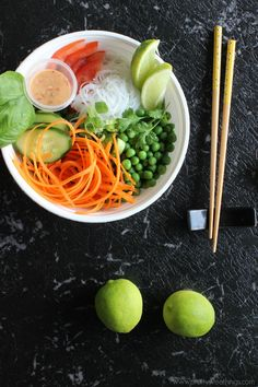 Asian-inspired salad bowl with the BEST Asian inspired dressing (sugar free)