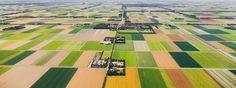 Nederland van boven: zomer 2013