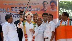 "BJP, Rahul has ""mortgaged"" Karnataka's future to mafia"