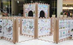 Children-Interacting Art Installations : Color Me exhibition