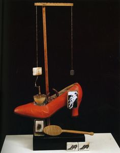 Scatalogical Object Functioning Symbolically (The Surrealist Shoe), 1931