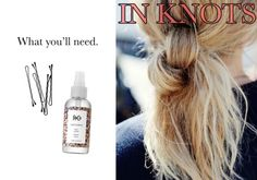 Knot your average ponytail (but just as simple!)