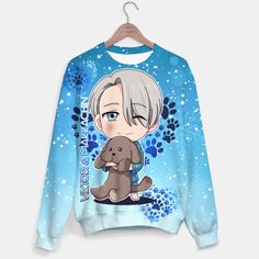 Yuri On Ice Chibi Viktor Sweater