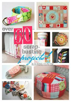 over 60 scrap busting projects--a girl and a glue gun
