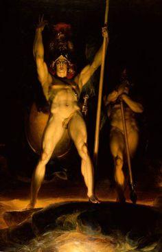 Satan Summoning His Legions, Thomas Lawrence