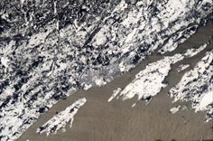 Chris Hadfield's photos of Canada from the Space Station Chris Hadfield, Kingston Ontario, Earth From Space, Close To Home, Space Station, Out Of This World, Aerial Photography, Aerial View, Planet Earth