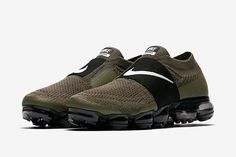 Release Date Nike Air VaporMax Moc 2 Neutral Olive  shoes  Pinterest   Neutral, Air max and Big shoes