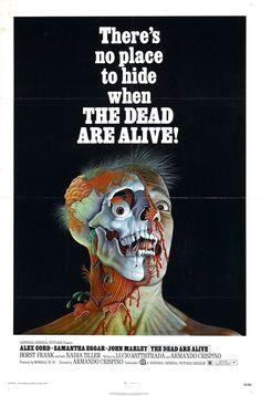 "The Dead Are Alive (1972)  ""L'etrusco uccide ancora"" (original title) Stars: Alex Cord, Samantha Eggar, John Marley, Nadja Tiller ~ Director: Armando Crispino"