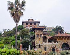 Villa liberty in Corso Italia, Genova #TuscanyAgriturismoGiratola
