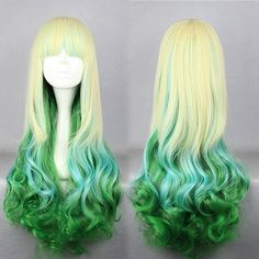 Aliexpress.com : Buy 75cm Long Multi Color Beautiful lolita wig Anime Wig from Reliable Cosplay wig suppliers on China cosplay wigs factory