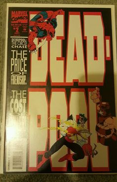 DEADPOOL THE CIRCLE CHASE #2 First Print DEADPOOLS FIRST SOLO COMIC