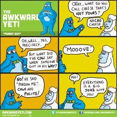 32 0717 PunnyGuy | The Awkward Yeti
