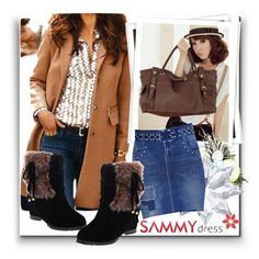 """Sammydress 8"" by danijela-3 ❤ liked on Polyvore featuring GALA, Swarovski, MustHave, sammydress and winteredition"