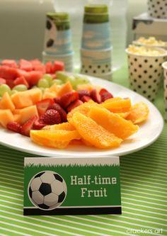 Half Time Fruit