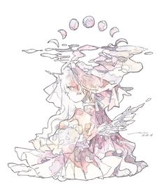 Pretty Art, Cute Art, Character Illustration, Illustration Art, Character Art, Character Design, Simple Anime, Sad Art, Identity Art
