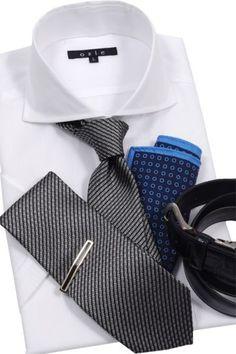 シャツ&ネクタイ専門店 ozie|CoolBizのおすすめコーデ~快適、おしゃれに!~快適シャツをマストアイテムに、今年の暑い夏も乗り切りましょう! oziejp#shirtstyle #shirts #Menswear #mensfashion #coolmax #ワイシャツ #メンズファッション #クールビズ #ベルト #サイモンカーター #クールマックスシャツ