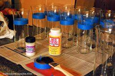 My Kitchen Escapades: DIY Glitter Vase
